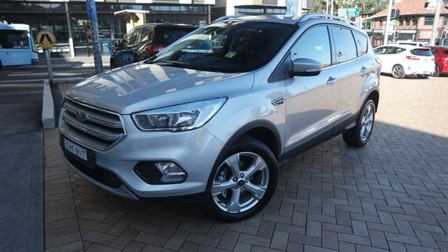 Used Ford Escape ZG 2019.75MY Trend Parramatta, 2019 Ford Escape ZG 2019.75MY Trend Moondust Silver 6 Speed Sports Automatic SUV