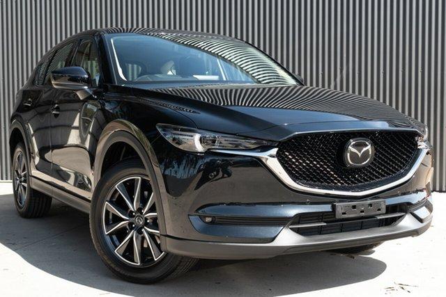 New Mazda CX-5 KF4WLA GT SKYACTIV-Drive i-ACTIV AWD, 2020 Mazda CX-5 KF4WLA GT SKYACTIV-Drive i-ACTIV AWD Jet Black 6 Speed Sports Automatic Wagon