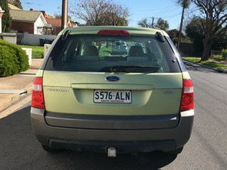 2004 Ford Territory SX TX Green 4 Speed Sports Automatic Wagon