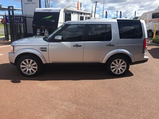 2012 Land Rover Discovery 4 MY12 3.0 SDV6 HSE Silver 6 Speed Automatic Wagon