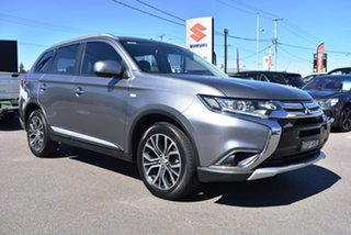 2017 Mitsubishi Outlander ZL MY18.5 ES 2WD ADAS Grey 6 Speed Constant Variable Wagon