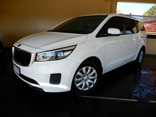 2016 Kia Carnival YP MY16 Update S White 6 Speed Automatic Wagon