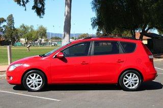 2009 Hyundai i30 FD MY09 SLX cw Wagon Red 4 Speed Automatic Wagon