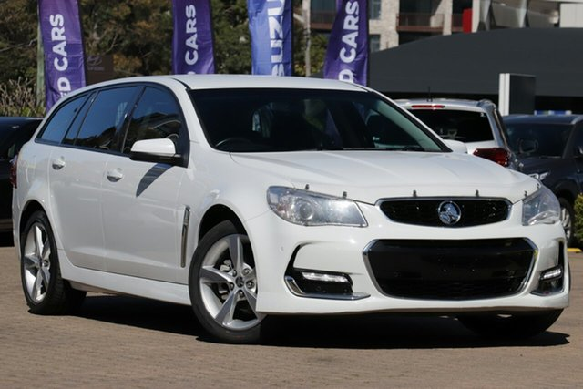 Used Holden Commodore VF II SV6, 2016 Holden Commodore VF II SV6 White 6 Speed Automatic Sportswagon