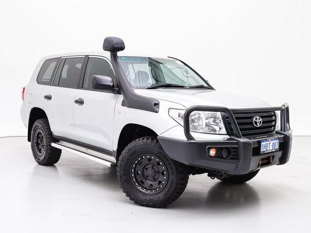 Used Toyota Landcruiser VDJ200R MY13 GX (4x4), 2015 Toyota Landcruiser VDJ200R MY13 GX (4x4) Silver 6 Speed Automatic Wagon