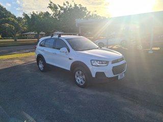 2016 Holden Captiva CG LS Summit White 6 Speed Automatic Wagon.