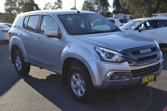 Used Isuzu MU-X MY17 LS-M Rev-Tronic, 2017 Isuzu MU-X MY17 LS-M Rev-Tronic Silver 6 Speed Sports Automatic Wagon
