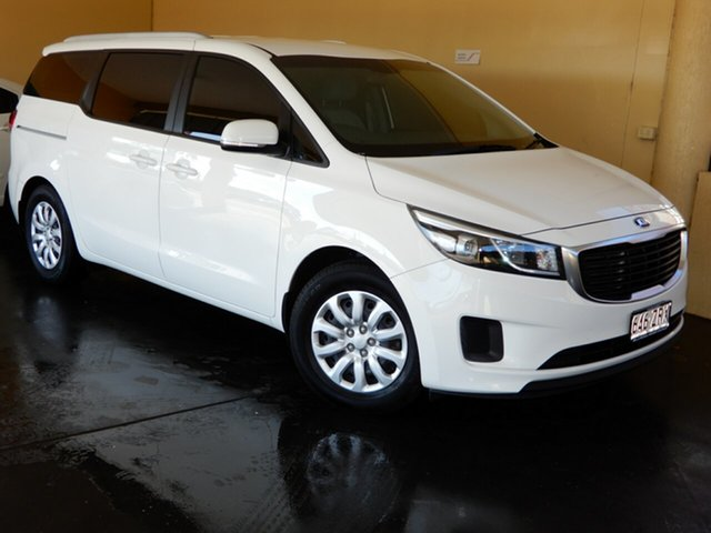 Used Kia Carnival YP MY16 Update S, 2016 Kia Carnival YP MY16 Update S White 6 Speed Automatic Wagon