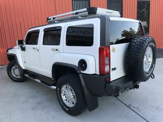 2008 Hummer H3 Adventure White 5 Speed Manual Wagon.