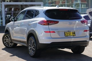 2019 Hyundai Tucson TL3 MY19 Elite (AWD) Platinum Silver 7 Speed Auto Dual Clutch Wagon.