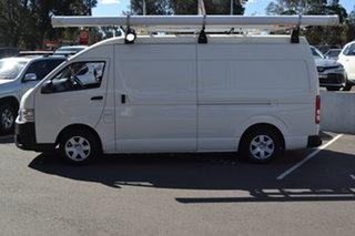 2016 Toyota HiAce KDH221R High Roof Super LWB White 4 Speed Automatic Van.