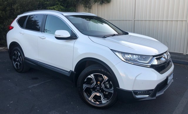 Used Honda CR-V RW MY19 VTi-LX 4WD, 2018 Honda CR-V RW MY19 VTi-LX 4WD White Orchid 1 Speed Constant Variable Wagon