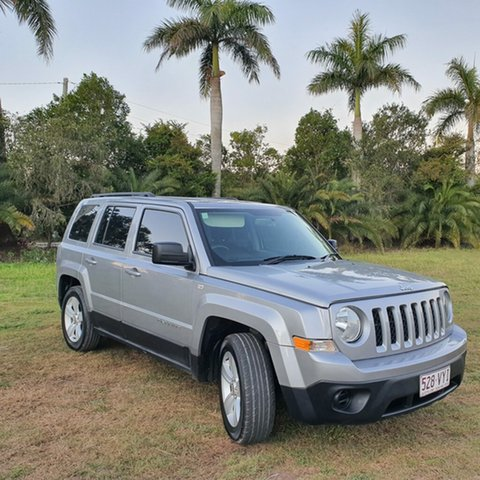 Used Jeep Patriot MK MY15 Sport CVT Auto Stick 4x2, 2014 Jeep Patriot MK MY15 Sport CVT Auto Stick 4x2 Grey 6 Speed Constant Variable Wagon