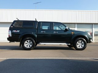 2010 Ford Ranger PK XLT Crew Cab Green 5 Speed Manual Double Cab Pick Up