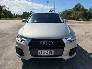 2015 Audi Q3 8U MY16 TFSI S Tronic Cuvee Silver 6 Speed Sports Automatic Dual Clutch Wagon.