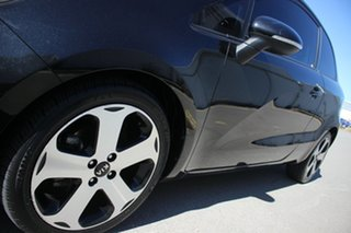 2012 Kia Rio UB MY12 SLS Black 6 Speed Sports Automatic Hatchback
