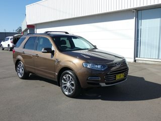 2014 Ford Territory SZ Titanium Seq Sport Shift AWD Brown 6 Speed Sports Automatic Wagon