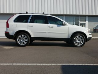 2011 Volvo XC90 P28 MY11 D5 Geartronic Executive White 6 Speed Sports Automatic Wagon