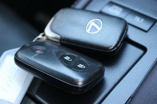 2012 Lexus CT ZWA10R CT200h F Sport White 1 Speed Constant Variable Hatchback Hybrid