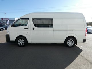 2018 Toyota HiAce KDH221R High Roof Super LWB White 4 Speed Automatic Van.