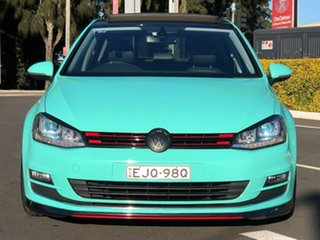 2013 Volkswagen Golf VII 103TSI DSG Highline 7 Speed Sports Automatic Dual Clutch Hatchback.