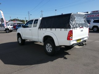 2008 Toyota Hilux KUN26R MY09 SR5 Xtra Cab White 5 Speed Manual Utility