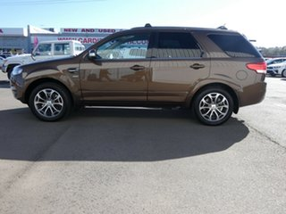 2014 Ford Territory SZ Titanium Seq Sport Shift AWD Brown 6 Speed Sports Automatic Wagon.