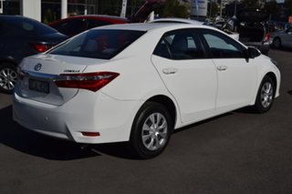 2014 Toyota Corolla ZRE172R Ascent S-CVT White 7 Speed Constant Variable Sedan