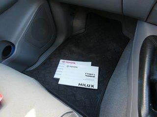 2008 Toyota Hilux KUN26R MY09 SR5 Xtra Cab White 5 Speed Manual Utility