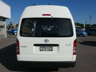2018 Toyota HiAce KDH221R High Roof Super LWB White 4 Speed Automatic Van