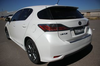 2012 Lexus CT ZWA10R CT200h F Sport White 1 Speed Constant Variable Hatchback Hybrid