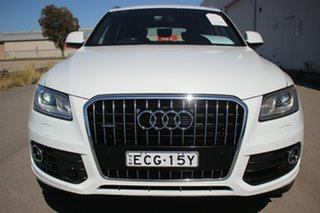 2016 Audi Q5 8R MY16 TDI S Tronic Quattro White 7 Speed Sports Automatic Dual Clutch Wagon