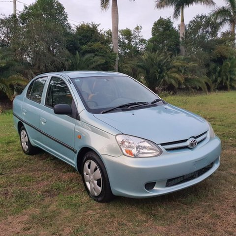 Used Toyota Echo NCP12R MY03 Alberton, 2005 Toyota Echo NCP12R MY03 Light Blue 4 Speed Automatic Sedan