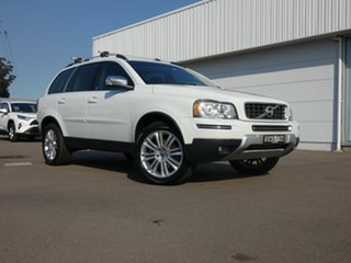 2011 Volvo XC90 P28 MY11 D5 Geartronic Executive White 6 Speed Sports Automatic Wagon.