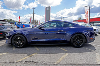 2018 Ford Mustang FN 2019MY GT Blue 6 Speed Manual Fastback