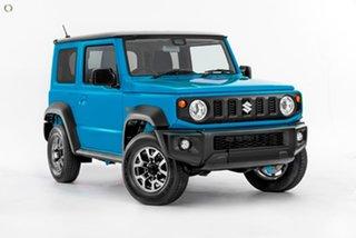 2020 Suzuki Jimny JB74 Blue 4 Speed Automatic Hardtop.