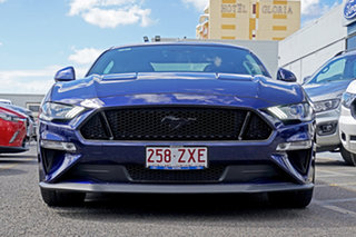 2018 Ford Mustang FN 2019MY GT Blue 6 Speed Manual Fastback.