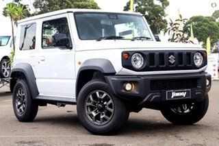 2020 Suzuki Jimny JB74 White 4 Speed Automatic Hardtop.