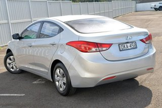 2013 Hyundai Elantra MD2 Active Silver 6 Speed Sports Automatic Sedan.