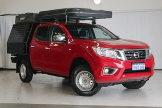 2016 Nissan Navara D23 S2 RX Red 7 Speed Sports Automatic Cab Chassis.