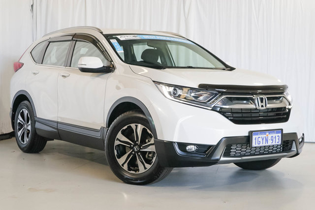 Used Honda CR-V RW MY19 VTi FWD, 2019 Honda CR-V RW MY19 VTi FWD White 1 Speed Constant Variable Wagon