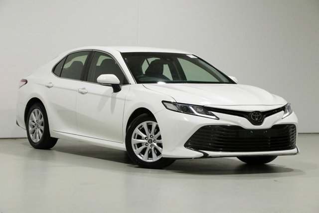 Used Toyota Camry ASV70R Ascent Bentley, 2019 Toyota Camry ASV70R Ascent White 6 Speed Automatic Sedan