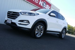 2017 Hyundai Tucson TL MY18 Active X 2WD White 6 Speed Manual Wagon.