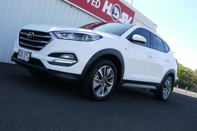 Used Hyundai Tucson TL MY18 Active X 2WD, 2017 Hyundai Tucson TL MY18 Active X 2WD White 6 Speed Manual Wagon