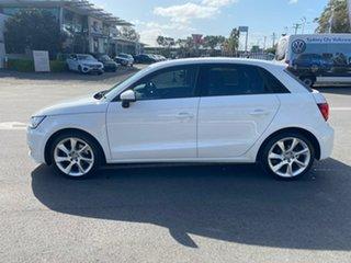 2015 Audi A1 8X MY16 Sport Sportback S Tronic White 7 Speed Sports Automatic Dual Clutch Hatchback.
