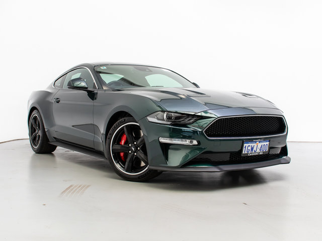Used Ford Mustang FN Fastback Bullitt, 2019 Ford Mustang FN Fastback Bullitt Green 6 Speed Manual Coupe