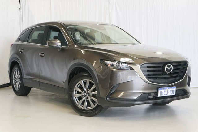 Used Mazda CX-9 TC Sport SKYACTIV-Drive, 2018 Mazda CX-9 TC Sport SKYACTIV-Drive Bronze 6 Speed Sports Automatic Wagon