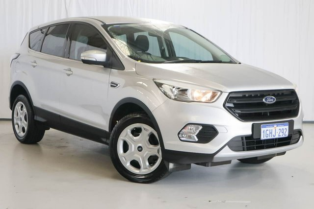 Used Ford Escape ZG 2018.00MY Ambiente, 2017 Ford Escape ZG 2018.00MY Ambiente Silver 6 Speed Sports Automatic SUV