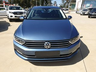 2018 Volkswagen Passat 3C (B8) MY18 132TSI DSG Comfortline Atlantic Blue 7 Speed.