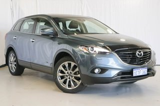 2015 Mazda CX-9 TB10A5 Grand Touring Activematic AWD Blue 6 Speed Sports Automatic Wagon.